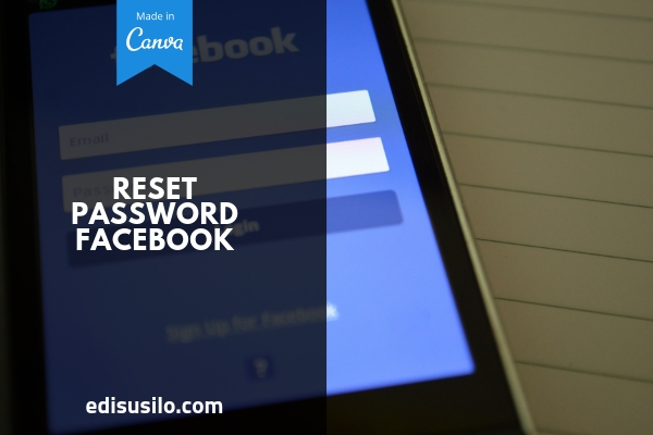 Reset Password Facebook Tanpa No HP Dan Email