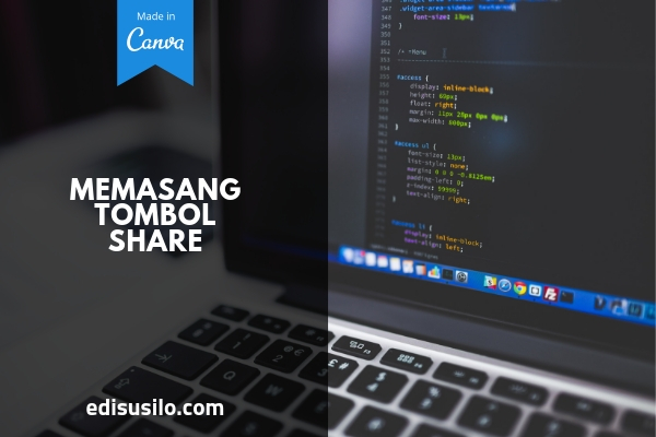 Cara Memasang Tombol Share Di Blog WordPress