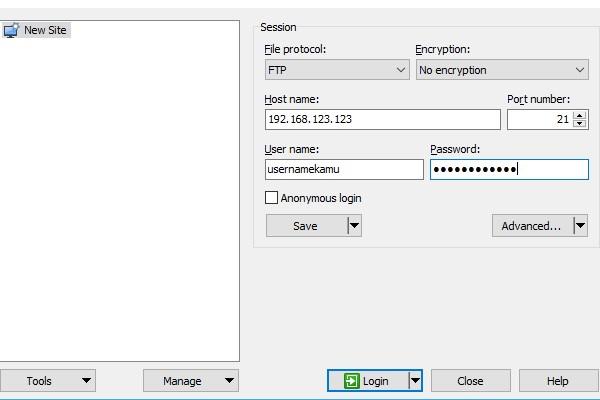 Cara Menggunakan WinSCP Settings