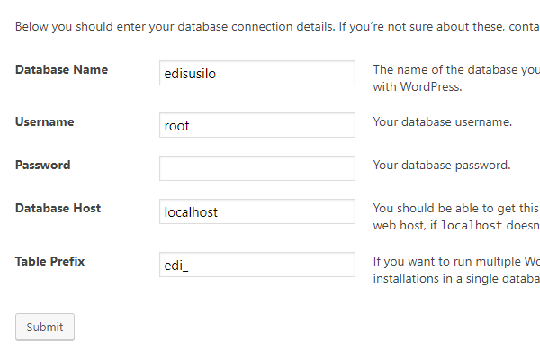 Cara Install WordPress Di Localhost XAMPP