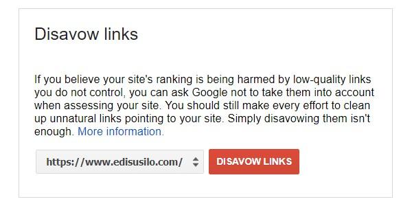 Cara Memblokir Backlink Spam Atau Negatif